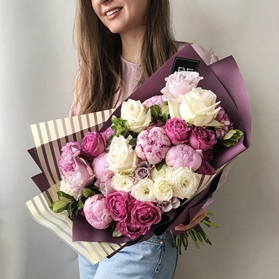 Flowers delivery in Moscow