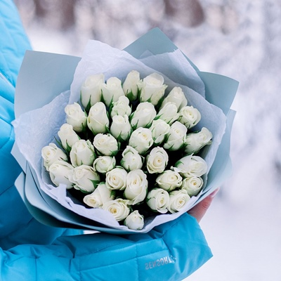 Rose delivery in Moscow