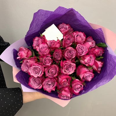 Rose bouquet delivery in Russia