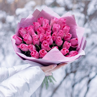 Roses delivery to Russia