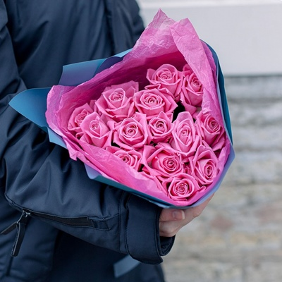 Rose delivery in Moscow Russia