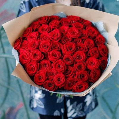 51 Red Premium Roses
