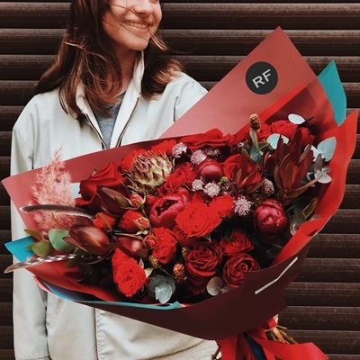 Flower delivery for Saint Petersburg