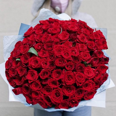 Rose bouquet delivery in Moscow