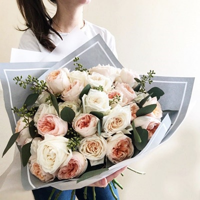 Peony rose delivery to Russia