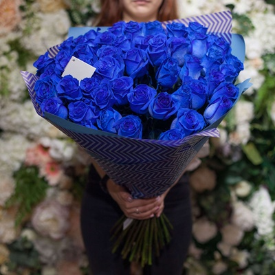 Blue Rose delivery in Moscow