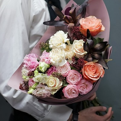 Flower bouquets delivery for Russia