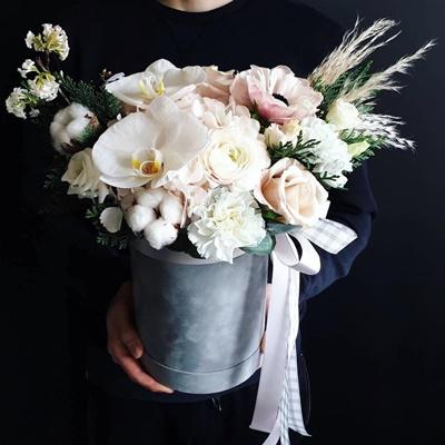 Цветы в коробках по России