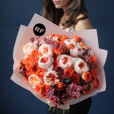 Luxury Flower Delivery in Moscow