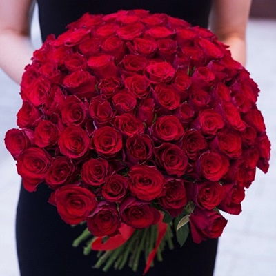 101 Roses for Moscow