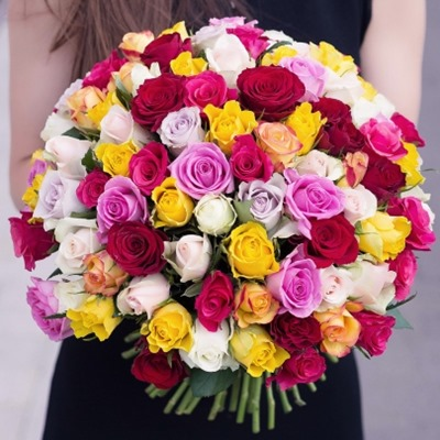 101 Roses delivery to Moscow
