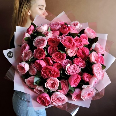 Luxury peony delivery Moscow